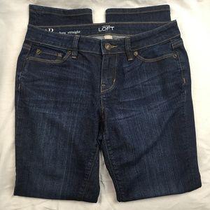 Ann Taylor Loft Jeans Modern Straight 4P